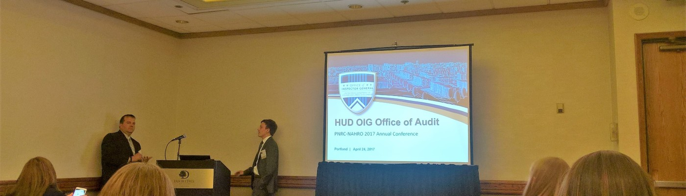 Pnrc Nahro Conference Session Hud Oig Audits What To Expect And How To Prepare Housing Futures